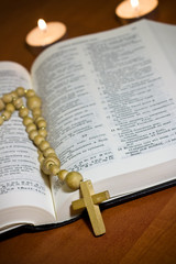 Old Cross and the Holy Bible