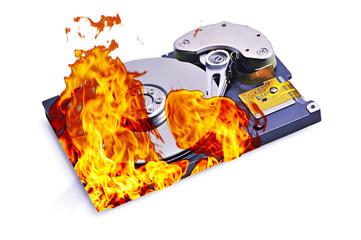 harddisk burn
