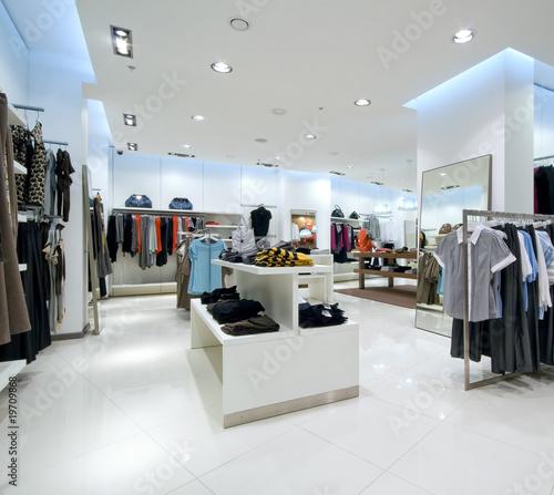 Interior of shopping mall - 19709868