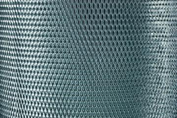metal mesh grate gray