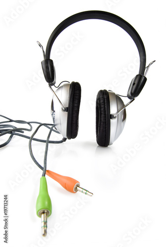 large headphoneswith color plug