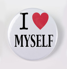 I love myself pin