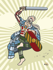 Celt Gael soldier