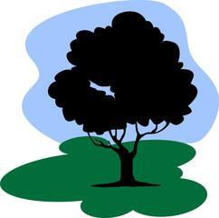 An isolated Tree under sky