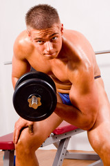 novice bodybuilder training