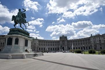 Heldenplatz, Hofburg, Wien