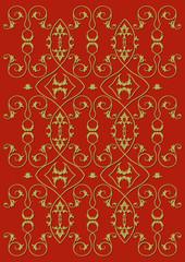 Hintergrund Floral rot