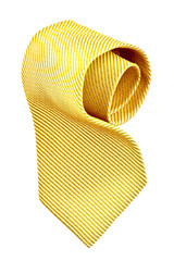 roll of golden tie