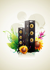Speaker vector composition