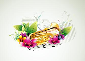 Music instrument vector