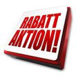 Rabattaktion! Button, Icon