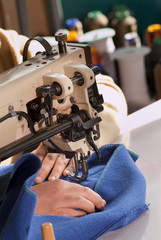 Macchina da cucire professionale