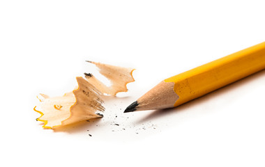sharp yellow pencil