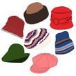 Lots of Hats Set 03