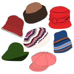 Lots of Hats Set 03
