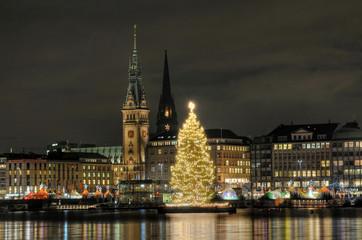 Hansestadt Hamburg im Weihnachtsglanz