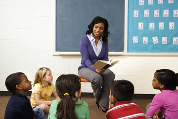 Teacher Reading to Students
