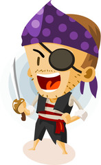 Kid Play Pirate