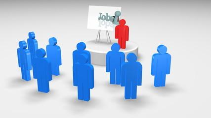 3d character presentation