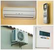 kit climatisation, intérieur/extérieur