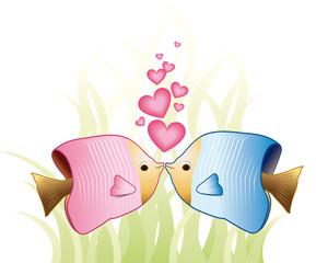 Pesci luna innamorati