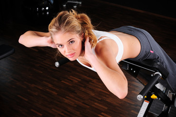 Fitness Bauchtrainer