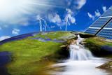 Fototapety energia e futuro