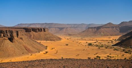 Canyon africain