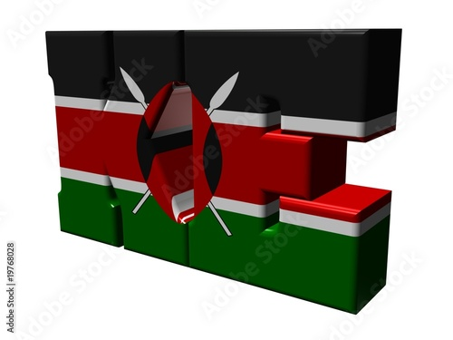3d Internet top level domain of Kenya