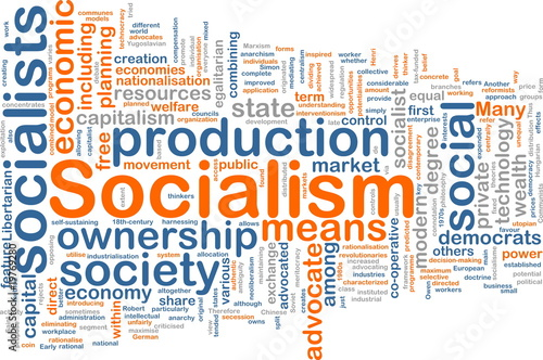Socialism word cloud