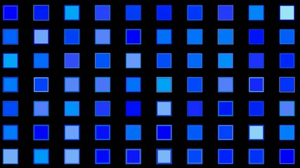 blue square background,mosaic