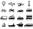 Set of 16 transport icons - 19776645