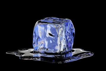 Un hielo derritiéndose,