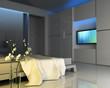 Télévision dans une chambre