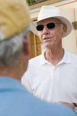 Man in retirement