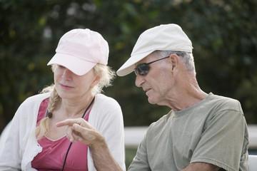 Seniors in retirement