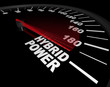 Hybrid Power - Speedometer
