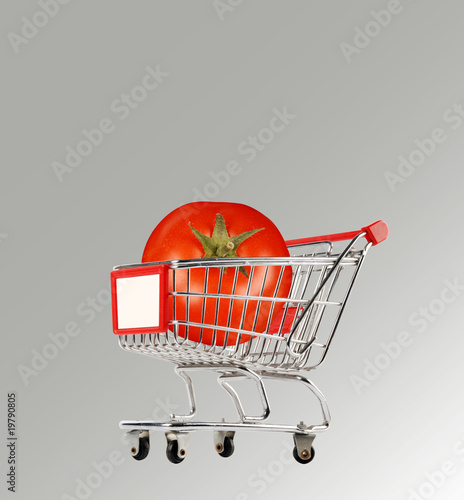 market shopping cart