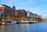 Fototapety Old Town pier in Helsinki, Finland