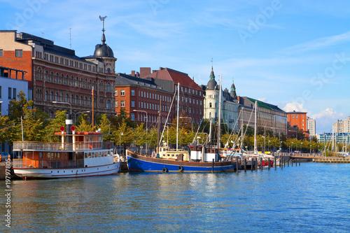 Old Town pier in Helsinki, Finland