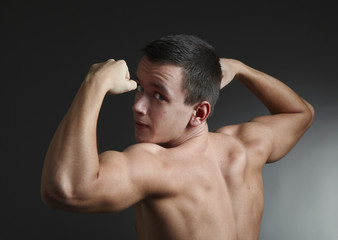 young bodybuilder