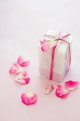 花びらと石鹸