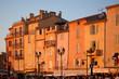 Leinwandbild Motiv St Tropez in evening light