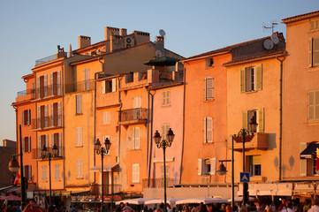 St Tropez in evening light