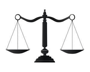 scale justice vector