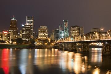 Landscape of Portland, Oregon, USA.