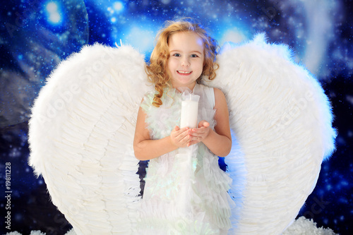 happy angel