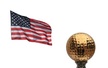 Championnat de golf  - USA