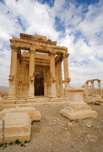 The Temple of Ba'al Shamin Palmyra
