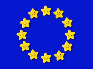 bandeira feliz